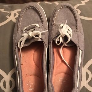 Gently worn Keds Boat Shoes
